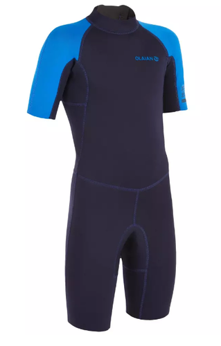 Neoprenanzug Shorty Kinder Olaian Blau