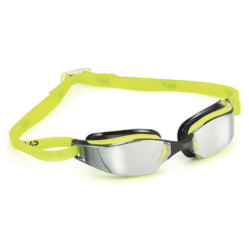MP Michael Phelps XCEED Yellow/Black Mirror Lens