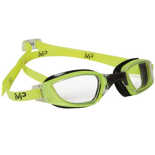 MP Michael Phelps XCEED Yellow/Black Clear Lens