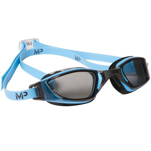 MP Michael Phelps XCEED Blue/Black Smoke Lens